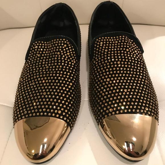 Giuseppe Zanotti Mens Slipper Shoes